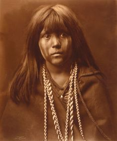 Photo by Edward Curtis - Masa, Mohave, c. 1904