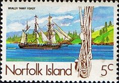 Norfolk Island 1985 Whaling Ships SG Scott 356 Fine Mint Other European and British Commonwealth Stamps HERE!
