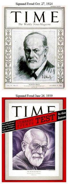 Freud, Sigmund Time covers.