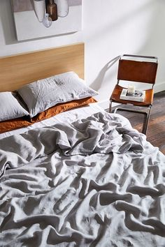 With our build-your-own-bundle bedding set, you can choose the combination of sheets that's right for you. Select your favourite colours, like Fog and Rust, to create a unique look.