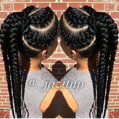 Omg,so neat beautiful braids ,hair goal!!!