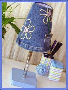 Little Kimono Handmade ❣ : 30 ideas para Reciclar vaqueros - Jeans Diy Jeans, Sewing Jeans, Recycle Jeans, Jean Crafts, Denim Crafts, Artisanats Denim, Blue Denim, Dark Denim, Jean Diy