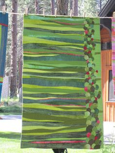 Sue Spargo. This whole blog has some amazingly cool quilts.