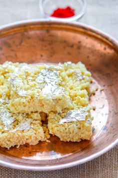 Indian Milk Burfi known as kalakand for an easy dessert for festivals | chefdehome.com