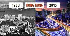 10 cidades que se tornaram irreconhecíveis