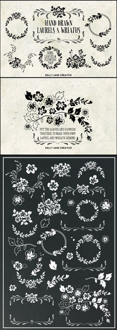 Gigantic Vector Elements Bundle - over 1000 hand-drawn vector elements but for a…