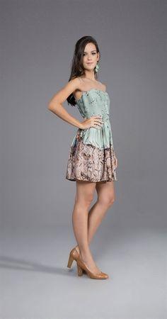 Vestido Céu de Celeste (Antix)