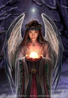 Pagan Christmas Angel