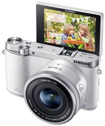 Auction everything you want: Samsung NX3000 Wireless .20.3MP CMOS Sensor for high-quality images and life like colors with crystal clear resolution Share your best photos instantly with Family and Friends with Built-in Wi-Fi with NFCSmart