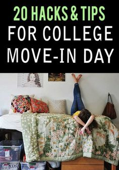 20 Hacks & Tips To Make College Move In Day A Breeze College move in day in is the worst, these hacks will help ease the pain for moving in days in college. From packing to storage we have the right college move in day hacks for you. Dorm Hacks, Organizing Hacks, College Hacks, College Dorm Rooms, School Hacks, College Roommate, College Students, Espn College, Uk College