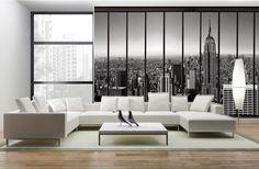 Penthouse - Papier peint trompe l'oeil New York