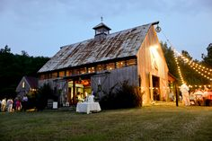 A favorite from this season. Farm Images, Rustic Weddings, Farms, Wedding Venues, Cool Designs, Reception, Cabin, House Styles, Home Decor