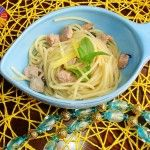 Spaghetti tonno, limone e menta