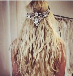 Hair jewellery rocks