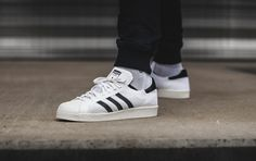 """***RELEASE REMINDER*** The adidas Originals """"Primeknit Pack"""" with two colorways on the Superstar 80s will be available at our shop on Saturday.  Release: 10.10.2015 