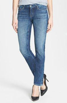 Big Star 'Brigette' Straight Leg Jeans (Ocean) (Petite) | Nordstrom