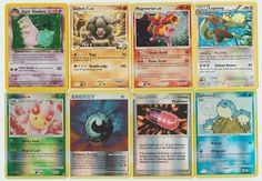 #Pokemon lot of 8 cards WITH RARES ALL PICTURED Not Perfect with Dark Slowbro Pokemon Tcg Cards, Cool Pokemon Cards, Pokemon Go, Christmas List 2016, Cool Cards, All Pictures, Trading Cards, Things That Bounce, Fishing