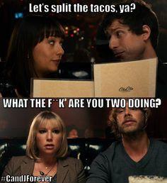 Let's split the tacos, ya?