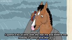 "When Bojack displayed our deepest collective insecurity. | 31 Times ""Bojack Horseman"" Got Way, Way Too Real"