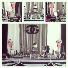 Chanel Party #chanel #party