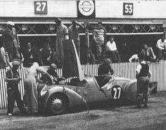 LE MANS 1937 - PEUGEOT 302 DS Darl'Mart #27 - Daniel Porthault - Louis Rigal