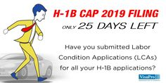 25 Day #H1B Cap Red Alert: Early submission of LCAs is essential to avoid costly delays arising from iCert system breakdown or FEIN mismatch. #h1bvisa #immigrationlawyer