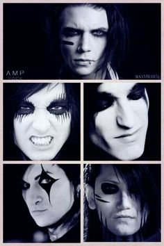 There beautiful war paint :C