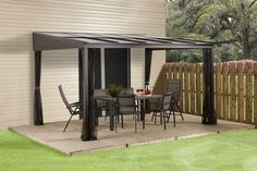 Walmart.ca has this gazebo for 1098 but could be used as a carport since it is four seasons