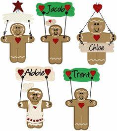 Gingerbread Wall Hangers