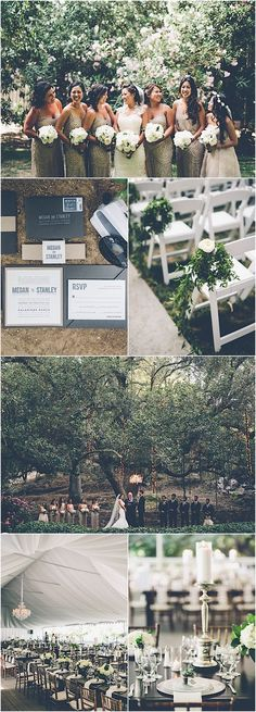 For Megan and Stanley's gorgeous wedding, a white, green and gold color theme was the name of the game. The couple celebrated with a casual yet elegant wedding that was planned beautifully by Bright Blue Events. The decorof this wedding included tons of full white floral arrangements, hints of gold sparkle here and there and […]