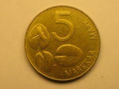 5 markkaa 1993, R115