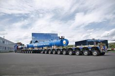 120 ton cylinder moved to China true the port of Antwerp.