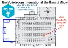 Come see PaddleAir and all the new Ergos at The Boardroom Surf Expo in Del Mar, Saturday and Sunday, May 17 and 18, 2014.