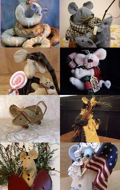 Not A Creature Was Stirring, Not Even A . . . . .  by Denise Bailey - KKL Primitives on Etsy
