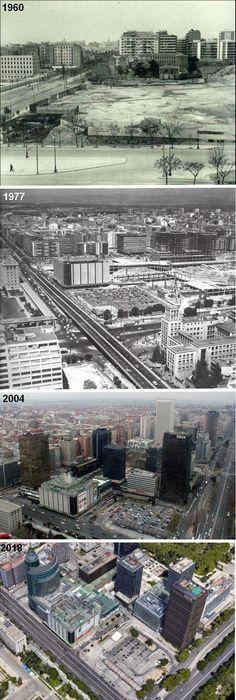 Foto Madrid, Windsor, City Photo, Nostalgia, Photo Caption, Towers, Cities, Viajes, Street