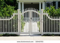 Image for Front gate and picket fence