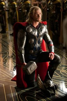 Thor-I was on a date when I saw this movie. I had no idea Thor was going to be so yummy! I was practically drooling!