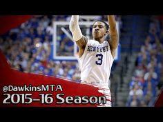 Tyler Ulis Full Highlights 2015.12.26 Kentucky vs Louisville - 21 Pts, 8...