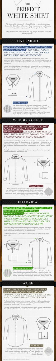 Men's Shirts - from His Style Diary