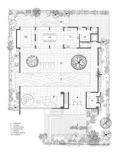 Imagen 12 de 17 de la galería de La Casa Patio / Formwerkz Architects. Planta Primer Piso