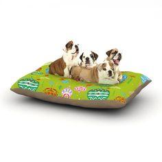 "Miranda Mol ""Ornate Green"" Ornaments Dog Bed"