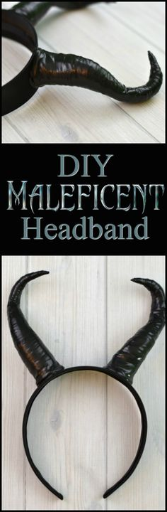 You can make your own Maleficent Headband with just a few simple supplies in under an hour!