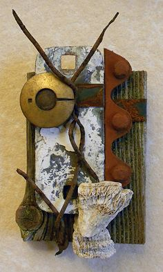 Secret Garden found object assemblage by tristanfrancis on Etsy, $200.00