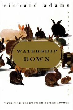 RICHARD ADAMS: 'Watership Down' is a commentary on different political systems. Cowslip's Warren is Socialist. Efrafa is a Dictatorship. And Watership Down, the most functional, is a Democracy. Watership Down Book, I Love Books, Good Books, Richard And Adam, Bunny Book, Divergent Series, Literature, Novels, Place Card Holders