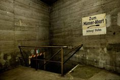 Photos and history of the abandoned Berliner Bunkerwelten, in Berlin,  Germany. Also known as Underground Bunkers of Berlin. ..♥.Nims.♥