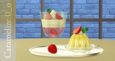 Sweets clutter at Caramelize • Sims 4 Updates