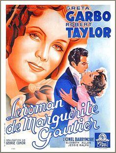 le roman de marguerite gautier | affiche Le Roman de Marguerite Gautier 9121