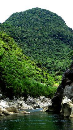 ...at Agos River, Infanta, Quezon, Philippines