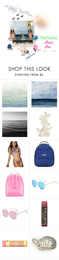 """Touch"" by sinmrn ❤ liked on Polyvore featuring Art Classics, Pomeroy, Love Moschino, Furla and Burt's Bees"