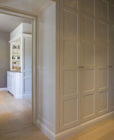 Built-in linen cupboards.                                                                                                                                                                                 More
